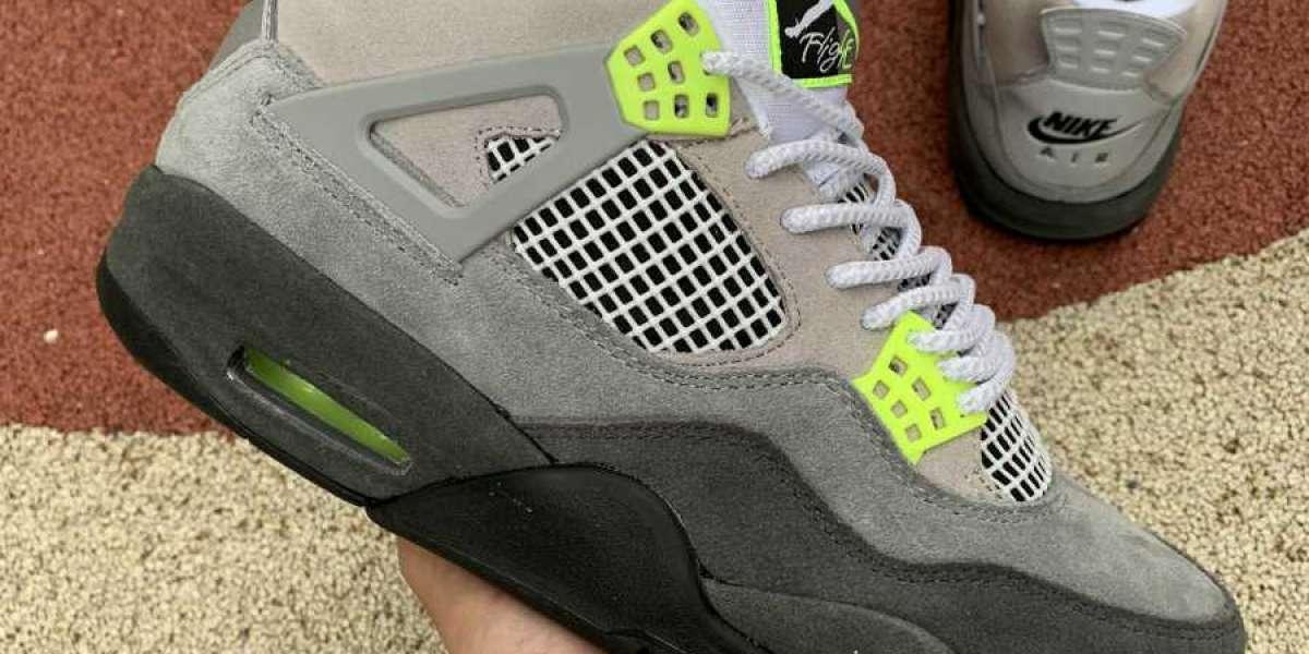 "2020 New Air Jordan 4s Retro SE ""Neon"" High Quality CT5342-007 Online"