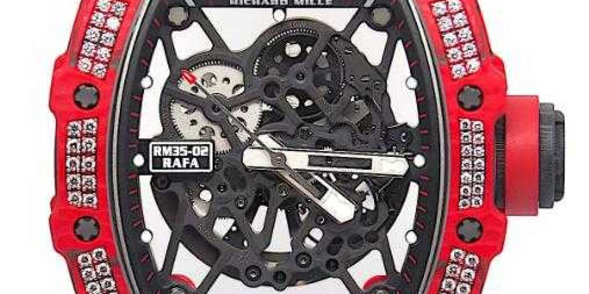Richard Mille RM 029 JAPAN RED All Black Watch Replica Online