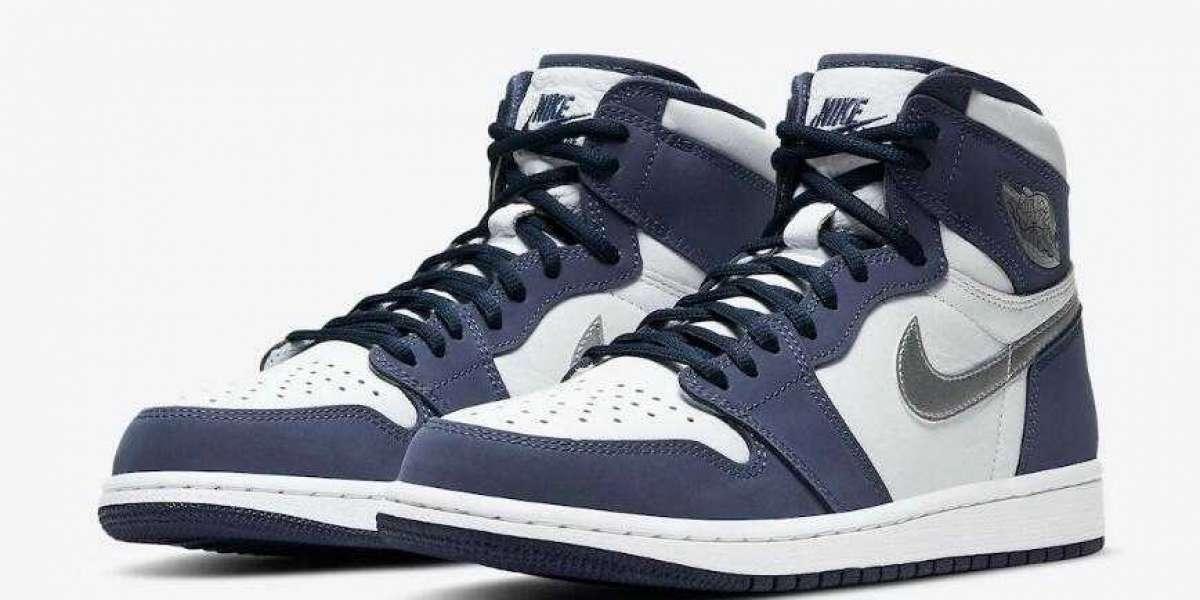 Buy Best Price Air Jordan 1 High CO.JP Midnight Navy Basketball Shoes