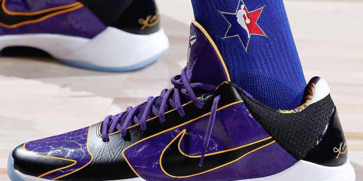 """Nike Kobe 5 Protro """"Lakers"""" CD4991-500 2021 Cheap For Sale"""