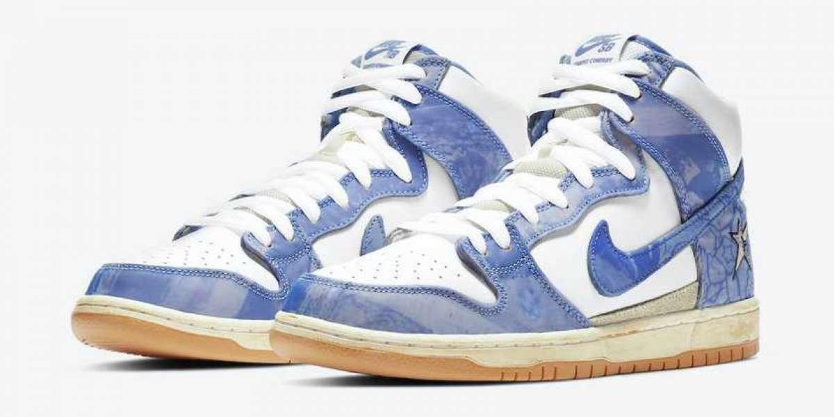 2021 Carpet Company x Nike SB Dunk High Casual Shoes CV1677-100
