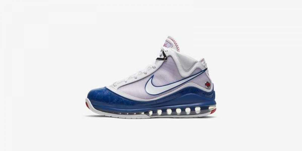 "Nike LeBron 7 ""Dodgers"" DJ5158-100 2021 New Released"