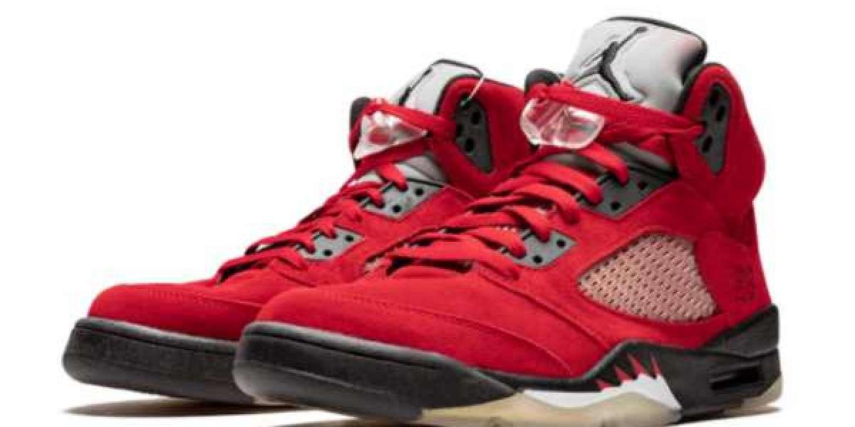 "Most worthly Nike Air Jordan 5 ""Raging Bull"" Basketball Shoes"