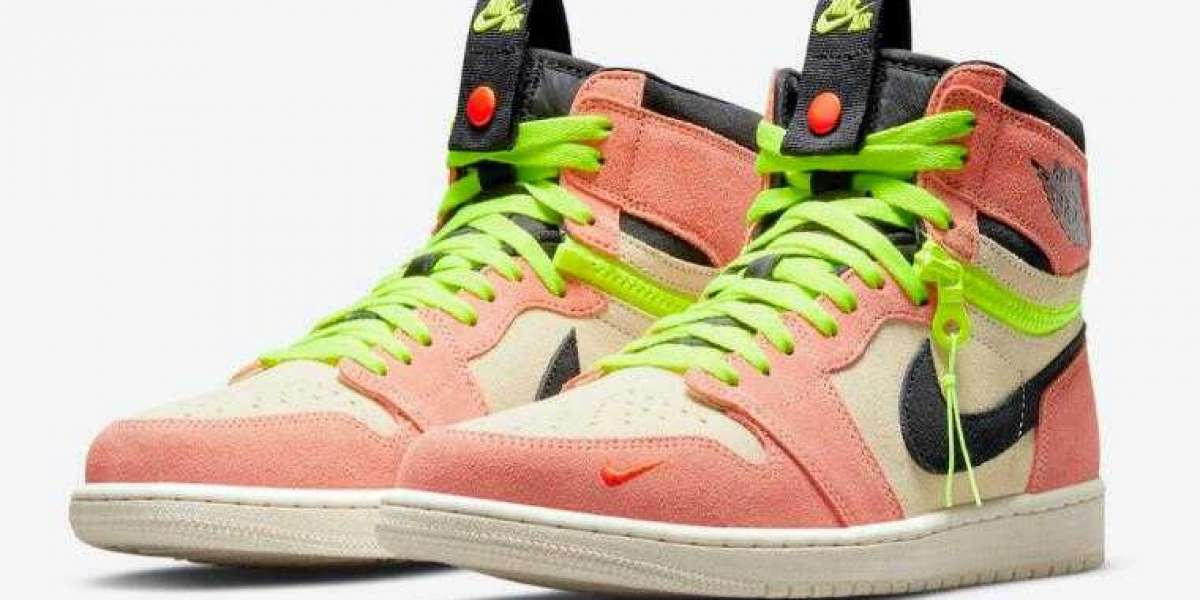 New Arrived Air Jordan 1 High Switch Coming with Peach and Neon
