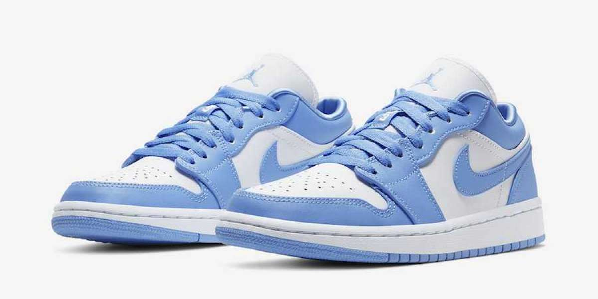 "Hot Sale Nike Air Jordan 1 Low ""UNC"" AO9944-441"