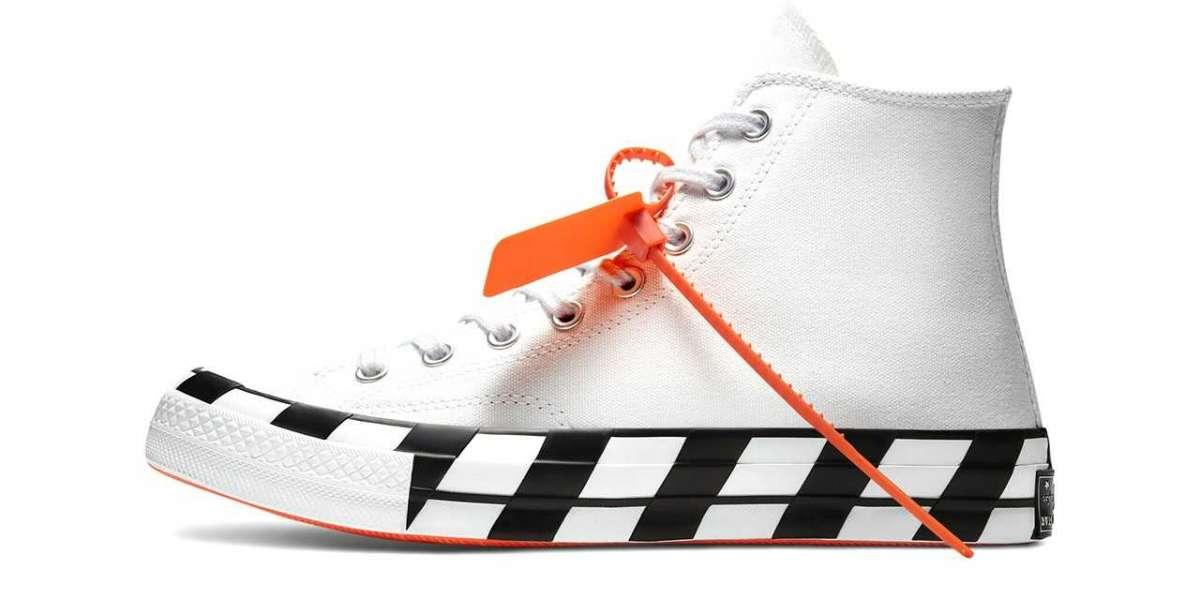 2021 Latest 163862C Off-White™ x Converse Chuck 70 Stripe White will back soon