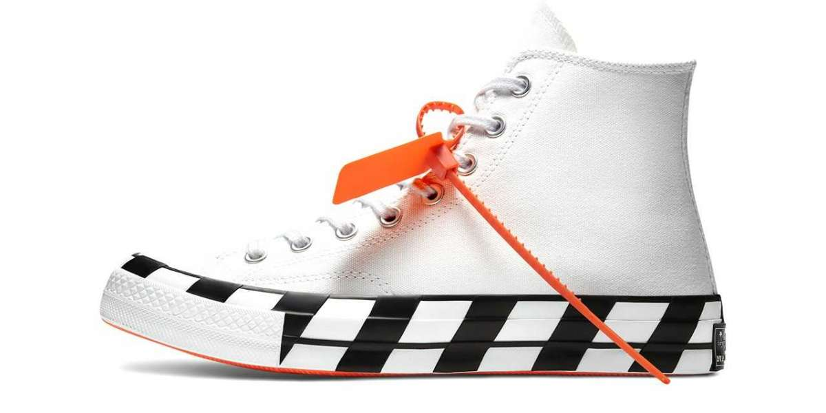 2021 Latest 163862C Off-White™ x Converse Chuck 70 Stripe White will back soon