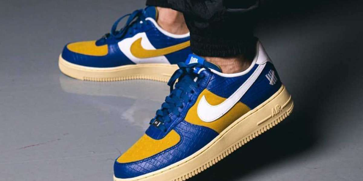 2021 New Sale Sneakers Undefeated x Nike Air Force 1 Low