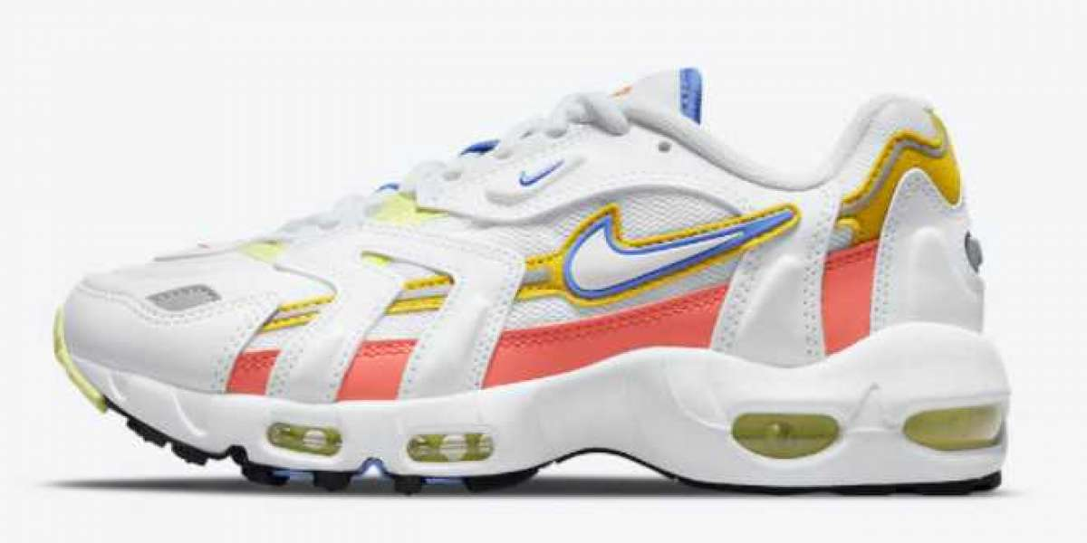 2021 New Nike Air Max 96 II White Pastels DJ0662-100 For Sale Online