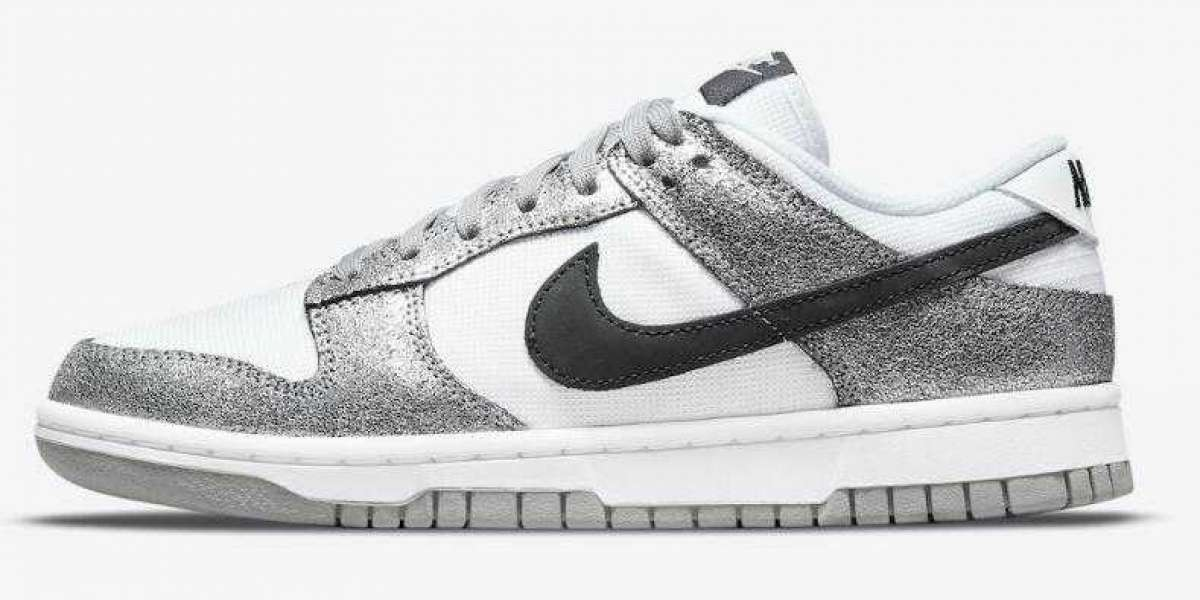 Latest drops Nike Dunk Low Releasing With Silver Cracked Leather