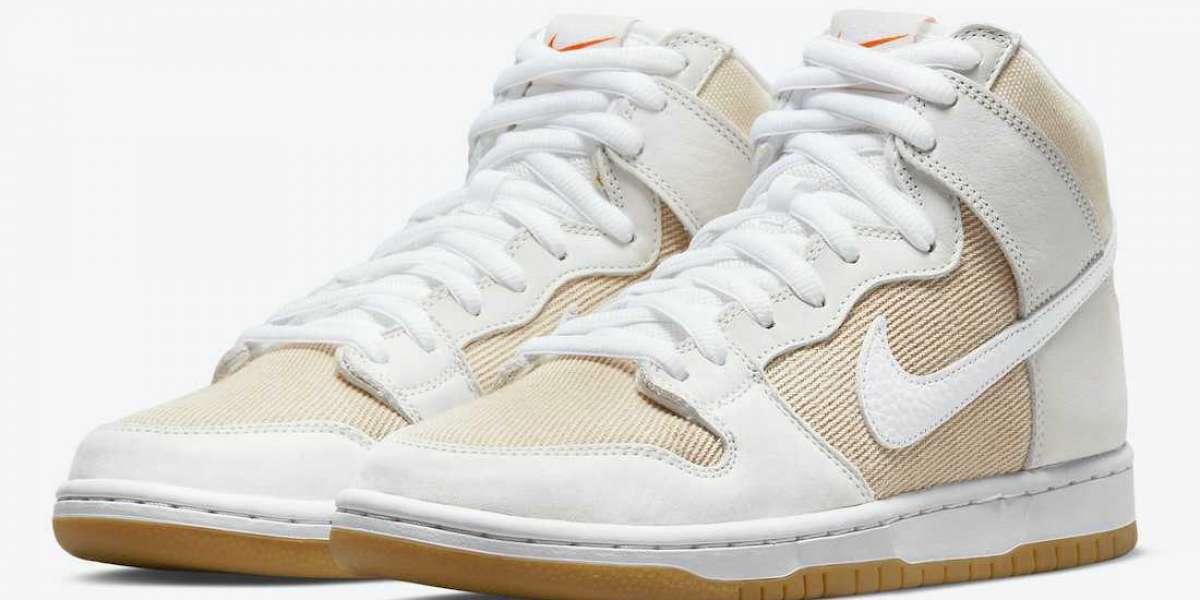 "DA9626-100 Nike SB Dunk High ""Unbleached Pack"" Sneakers"