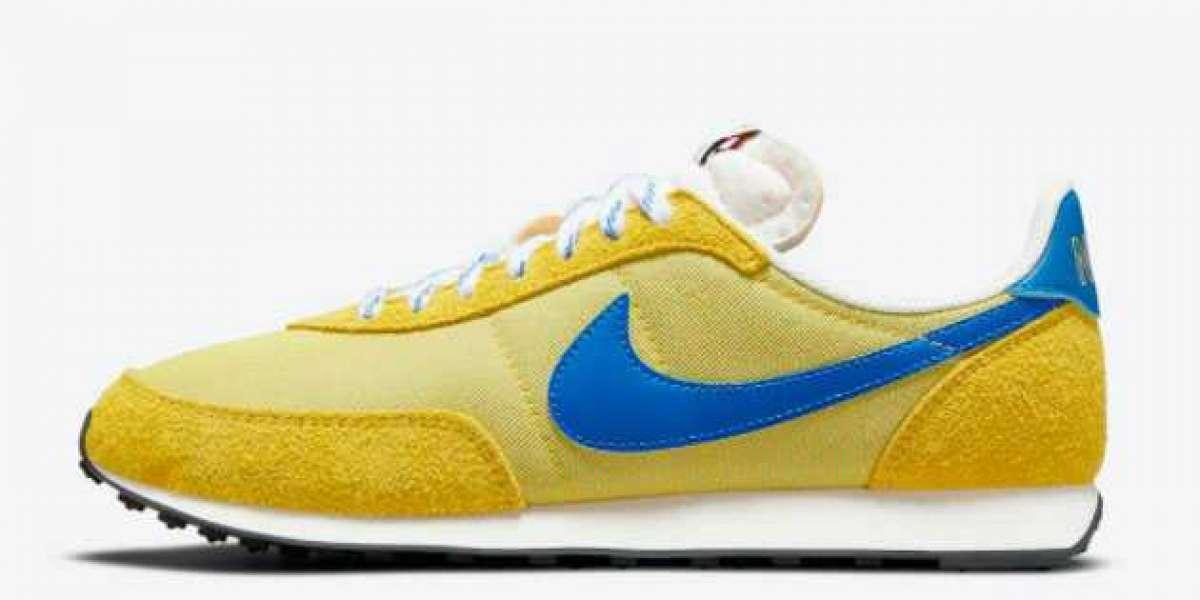 "Hot Sale Nike Waffle Trainer 2 ""K2"" Yellow Strike DC8865-700"